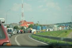 na granicy w Hrebennem