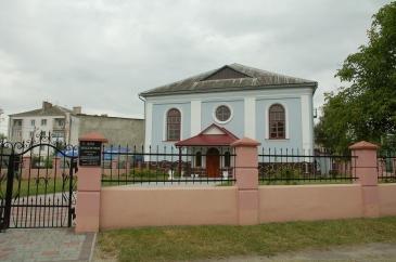 dawna synagoga w Busku, dziś dom modlitwy dla ewangelików