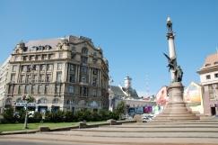 pomnik A. Mickiewicza we Lwowie
