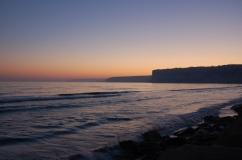 klify na plaży Kurion