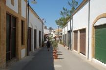 ulica Ledra w Nikozji, w drodze do punktu granicznego