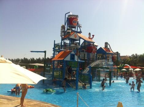 park wodny Fassouri w Limassol