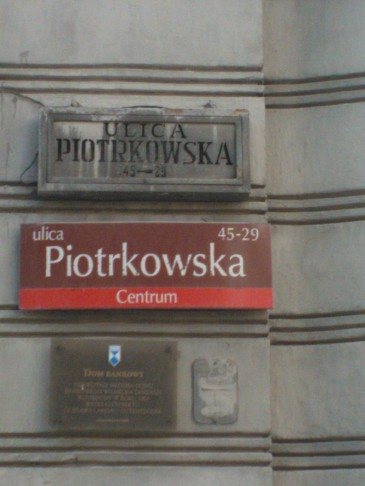 Łódź, ulica Piotrkowska