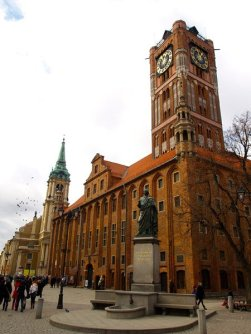 Toruń - ratusz