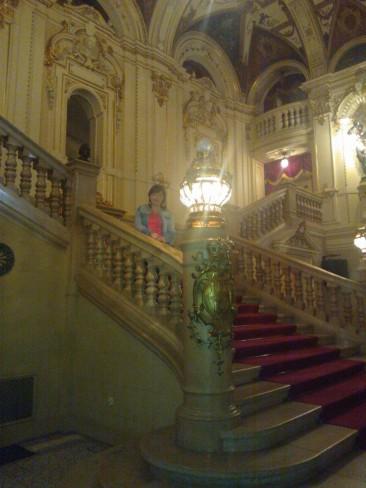 wnętrze teatru