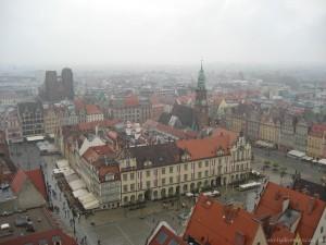 widok z wieży bazyliki