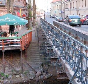 Most Zarzeczny w Wilnie